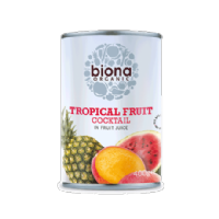 Biona Organic Tropical Fruit Cocktail 400g